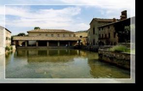 Bagno Vignoni - Chianciano Terme, the town of health